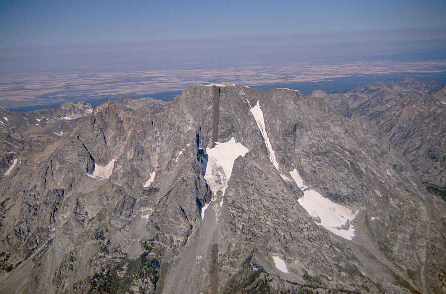 Mount Moran looking west northwest.