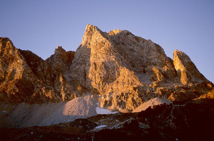 Buck Mountain sunset from No Wood Lake.
